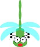 蜻蜓-向量clipart 免版税库存图片