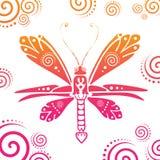 蝴蝶例证 免版税图库摄影