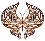 蝴蝶巧克力 库存照片