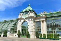 蝴蝶房子在维也纳 免版税库存图片