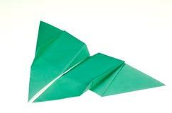 蝴蝶折叠的origami纸张 免版税库存图片