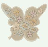 蝴蝶构成 图库摄影