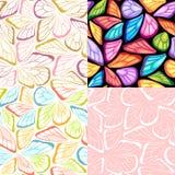 蝴蝶模式 库存图片