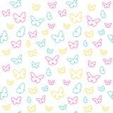 蝴蝶模式 库存照片