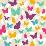蝴蝶模式 免版税库存照片