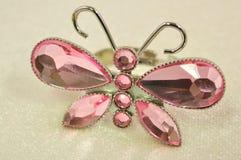 蝴蝶环形 库存图片