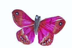 蝴蝶粉红色 图库摄影