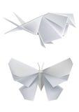 蝴蝶纸张燕子 图库摄影