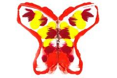 蝴蝶绘了 免版税库存照片