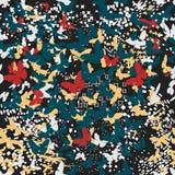 蝴蝶 模式无缝的向量 免版税库存图片