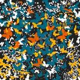 蝴蝶 模式无缝的向量 免版税图库摄影
