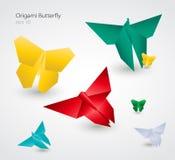 蝴蝶eps10 origami向量 向量例证