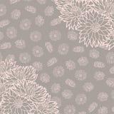 蝴蝶下落花卉花重点模式黄色 也corel凹道例证向量 美好的背景 不尽的纹理可以为打印使用在织品上和纸或者小块 免版税库存图片