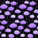 蝴蝶下落花卉花重点模式黄色 库存照片