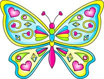 蝴蝶传染媒介 免版税库存图片