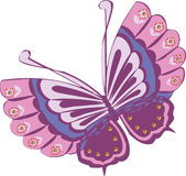 蝴蝶传染媒介clipart设计 库存照片