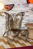 蝴蝶椅子 免版税库存照片