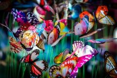蝴蝶模型 免版税图库摄影