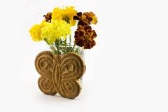 以蝴蝶的形式曲奇饼 免版税库存照片