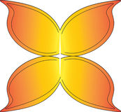 蝴蝶翼 向量例证