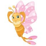 蝴蝶芭蕾舞女演员 向量例证
