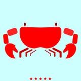 螃蟹它是象 免版税库存图片