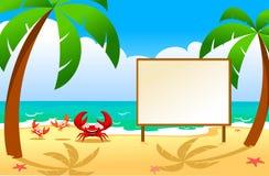 螃蟹家庭  免版税图库摄影
