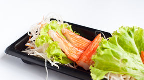 螃蟹模仿肉 免版税库存照片