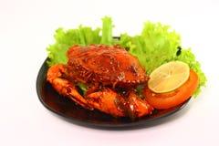 螃蟹烹调 免版税图库摄影