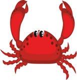 螃蟹红色 免版税库存照片