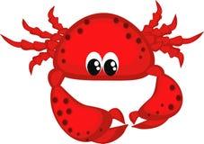 螃蟹红色 免版税库存图片