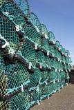 螃蟹虾笼 免版税库存照片