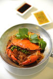 螃蟹thaifood 库存照片