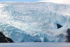 融化冰河冰山 库存照片