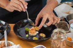 融合食物 免版税库存图片
