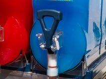 融雪冰Granita机器 库存图片