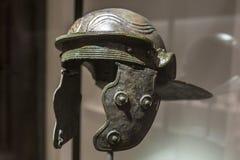 螯鞘或罗马战士盔甲 库存图片