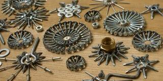 螺丝,钉子,螺栓 库存照片