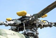 螺丝直升机mi 8关闭 免版税库存照片