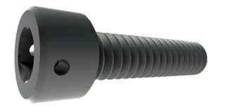 螺丝3D回报 图库摄影