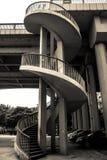 螺旋台阶 库存照片