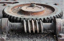 螺旋嵌齿轮 库存图片