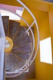 螺旋形楼梯在墨西哥 库存图片