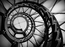 螺旋形楼梯在特森塔 图库摄影