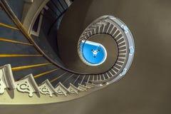 螺旋形楼梯在Nottoway 库存照片