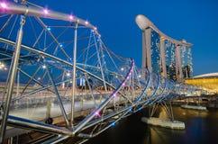 螺旋桥梁 图库摄影
