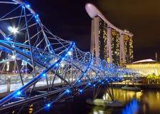螺旋桥梁 库存照片