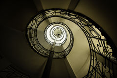 螺旋楼梯 免版税图库摄影