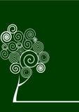 螺旋结构树 免版税库存照片