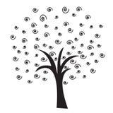 螺旋结构树 免版税库存图片